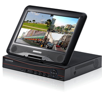 JSA CCTV Mini DVR 8 Ch 1080P Digital Video Recorder With 10 1 LCD SCREEN 8CH