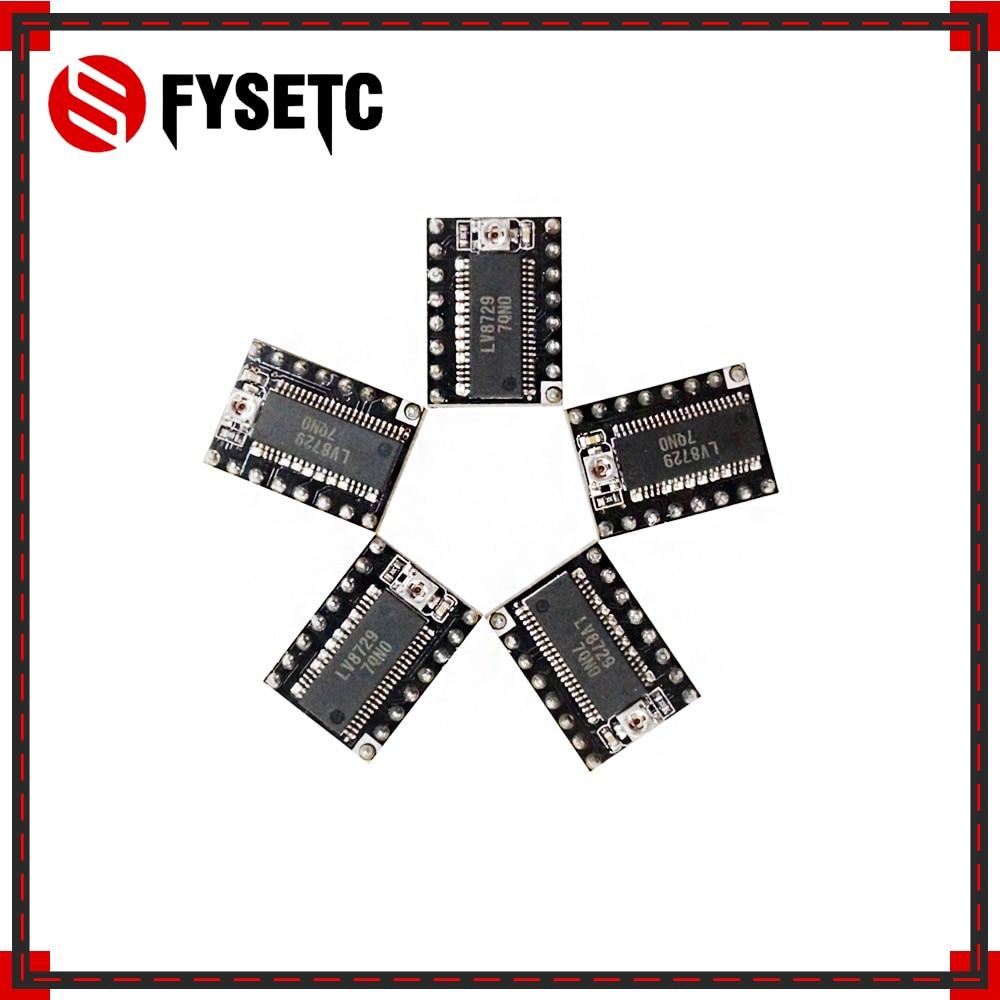 20pcs 3D Printer Parts LV8729 Stepper Motor Driver 4 layer PCB Ultra Quiet Driver Module Compatible