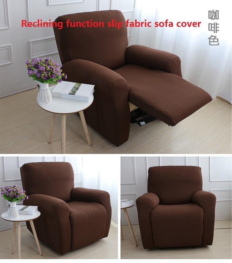 Sofa Slipcover No Sew: Slipcover Reclining Function Sofa Cover Can Shake Slip