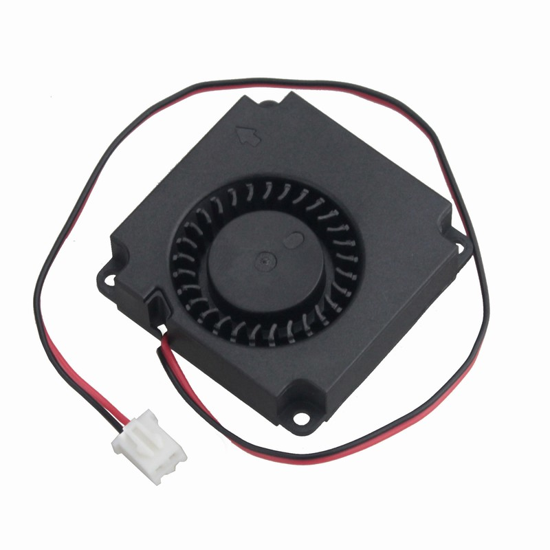Купить с кэшбэком 1 Pcs Gdstime 3D Printer 12 Volts 4cm Dual Ball Bearing Small Cooler 40*40*10mm Blower Fan 40mm DC Brushless Cooling Fan 12V