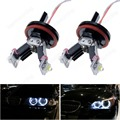 2x H8 6 Вт LED Angel Eyes Canbus Halo Света E82 E90 E92 E60 E63 X5 X6 Z4 Белый (CA115)