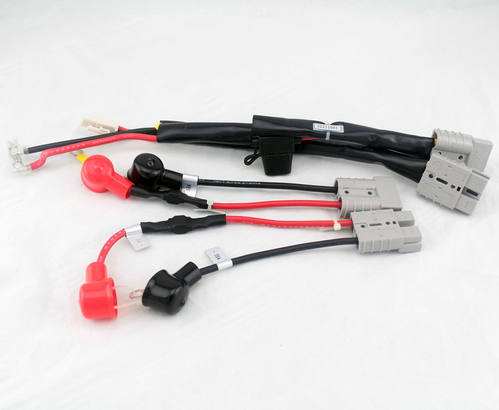 battery wire harness kit with fuse for the sunrise mobility scooter s400 s425 assembly oem [ 1000 x 822 Pixel ]