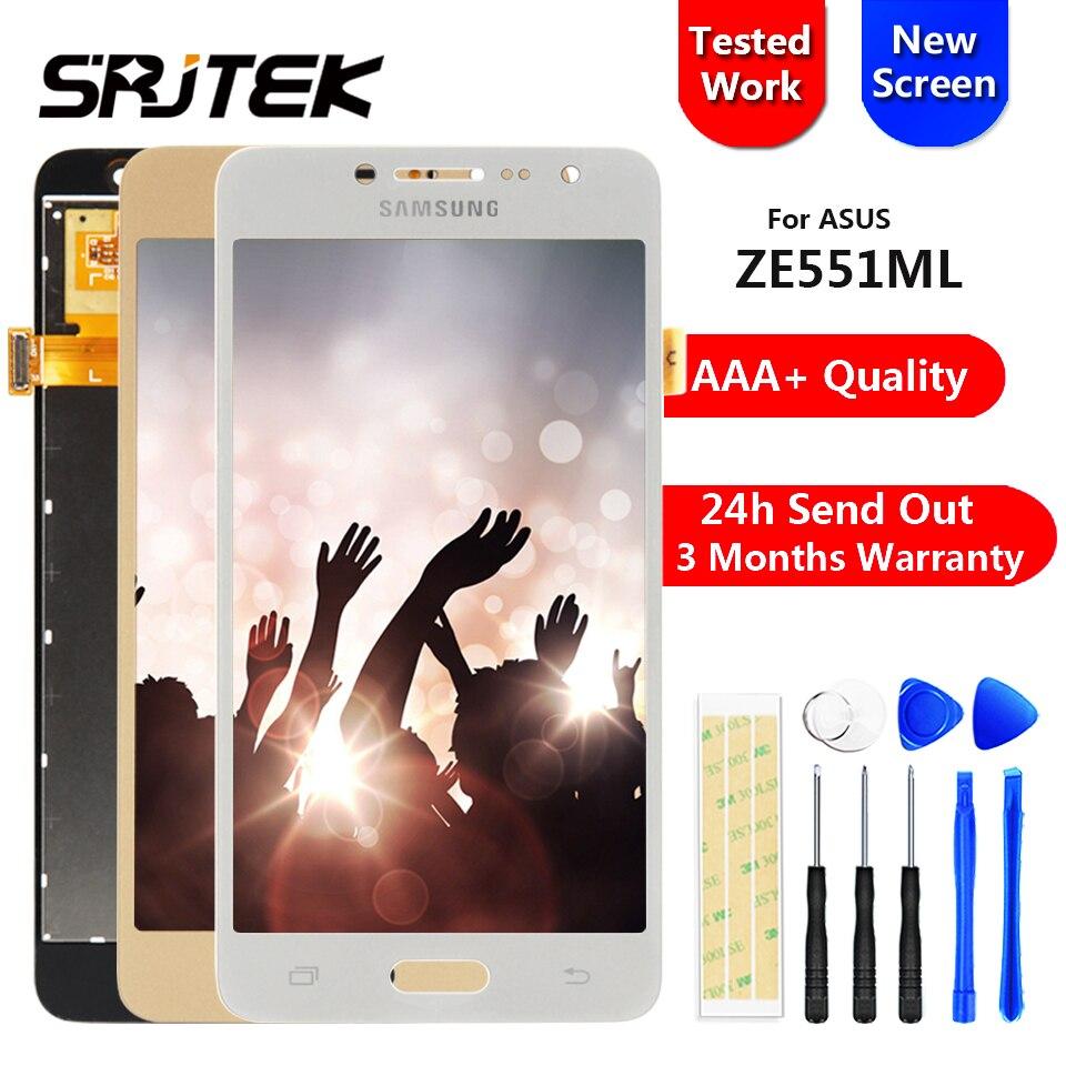 Pour Samsung Galaxy J2 Premier G532 SM-G532 SM-G532F G532F Écran lcd + Tactile Digitizer Capteur Verre Assemblée Sans Bouton À La Maison