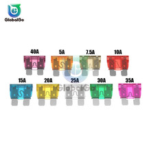 20pcs/Lot Auto Car Truck Motorcycle Blade Fuse 5A 7.5A 10A 15A 20A 25A 30A 35A 40A For SUV