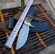 Browning hunting outdoor knife hand-forgenifd hardness sharp knife anti-height wilderness gift knife collection