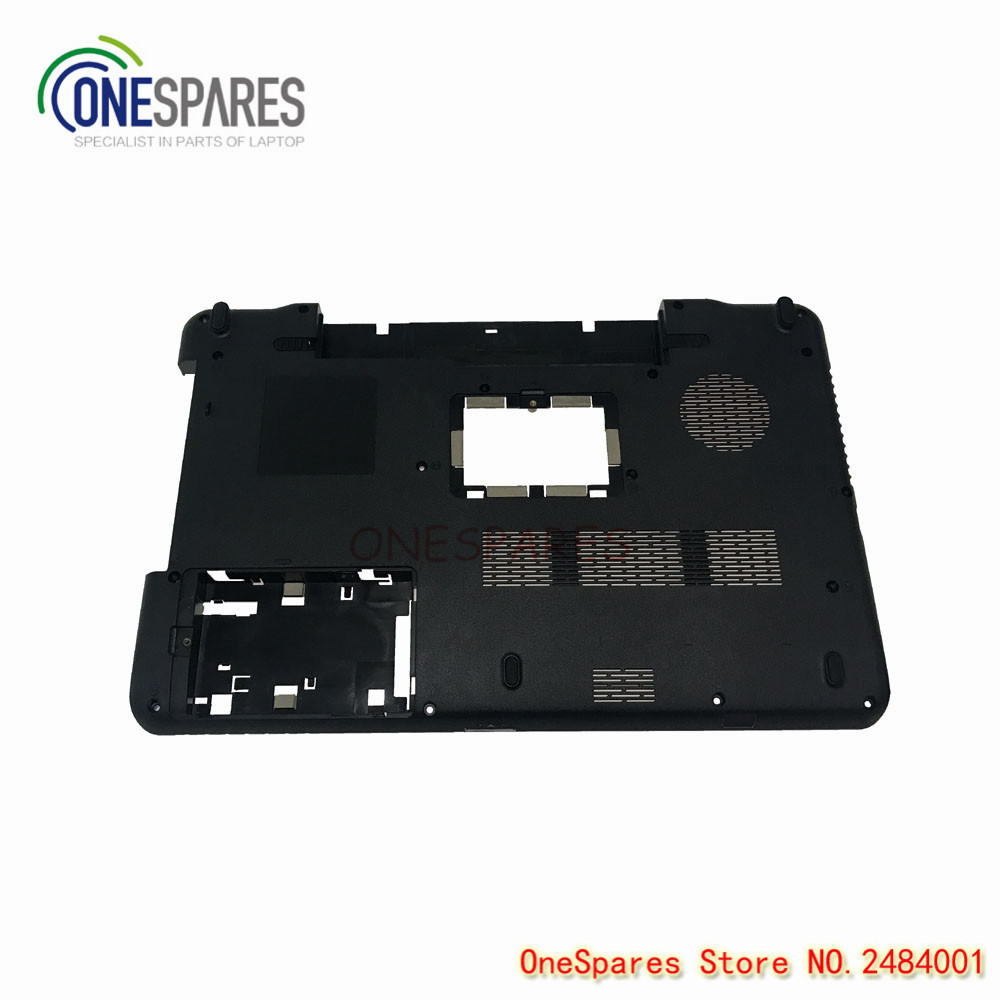 New Original Genuine Laptop Base Bottom Case Cover For Genuine Toshiba Satellite A660 A665 Series D Shell Black AP0CX000240 original new 15 6laptop lower case for hp omen 15 5000 series bottom cover base shell 788598 001 empty palmrest 788603 001