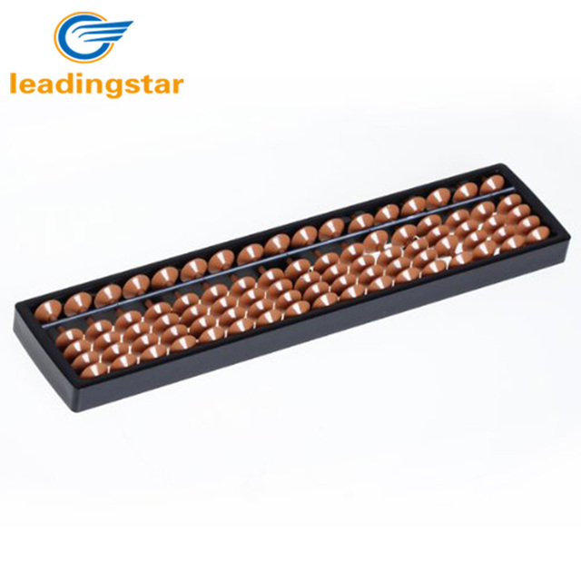 LeadingStar Hot Selling Plastic Math Toy Abacus Arithmetic Soroban Kid's Calculating Tool 17 Digits Educational Math Toy zk30