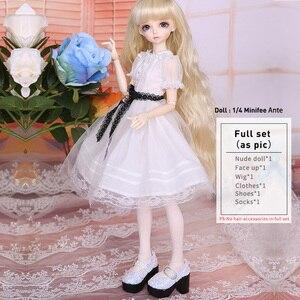 Image 5 - Minifee Ante Fairyland BJD SD poupée 1/4 modèle de corps bébé filles garçons jouets yeux haute qualité boutique de cadeaux résine Anime FL luodoll