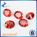 Oval Shape 50Pcs Light Orange Color 5A  CZ Stone 3x5-10x12mm Synthetic Gems Cubic Zirconia For Jewelry