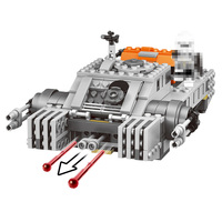 Hot Star Space Wars 405PCSImperial Assault Hovertank Building Blocks For Toddlers Clever Blocks Toys For Kids