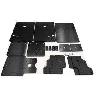 Image 2 - Workbee cnc 알루미늄 플레이트 키트, 리드 스크류 구동 및 벨트 버전 workbee cnc 라우터 기계, cnc 조각 기계