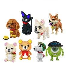 Babu Cartoon Mike Monster University Dier Hond Kat Kinderen Plastic Bouwsteen Actiefiguren Jongens Educatief Speelgoed 8801 8808