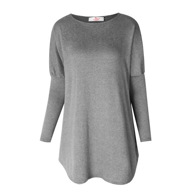 Sweater Tops Women 2017 Autumn Winter Long Sleeve Plus Size Pullovers  Elegant Women  Loose Female Sweater Clothing WS1401Y 2