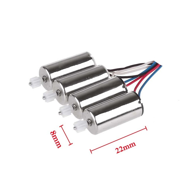 Original Syma X5SW X5SC X5HC X5HW CW CCW Motor RC Quadcopter Spare Parts Engine Replacements Accessories Free shipping