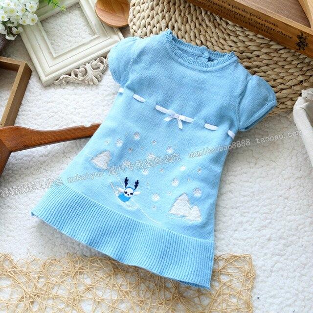2016 летние новорожденных свитер джемпер свитер 0 - 36 м вязаный свитер пальто младенца детская одежда