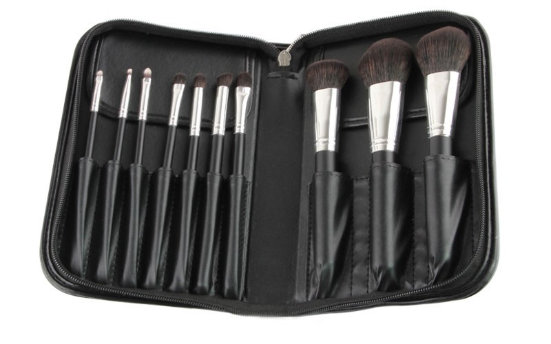 10 PCS makeup brush set 4