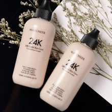 120 Ml Sun Block Foundation Krim Tahan Air Membuat Mineral Foundation Cair Penuh Penutup Bawah Concealer Makeup Kosmetik(China)