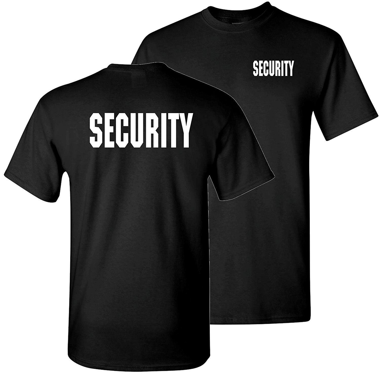 Black t shirt security - Gildan Original Black Tees Security T Shirts China Mainland