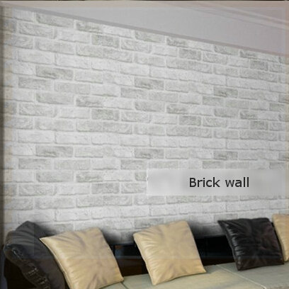 Aliexpress Com Buy Home Decor Deep Embossed 3d Brick Wallpaper Modern Brick Pattern Paper Wallpaper Roll For Living Room Wall Covering Mural Tapete From