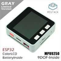 M5Stack oficial ESP32 Mpu6886 + BMM150 9 ejes Sensor de movimiento Kit de desarrollo de núcleo Extensible IoT Placa de desarrollo Arduino