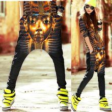 2014 nueva moda Primavera Verano hip hop danza flaco Pantalones de chándal  trajes momia impresión harem del desgaste del funcion. 79da9d0d97a