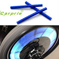 AUTO 12pcs Bicycle Wheel Reflective Strip Clip Tube Car Tire Valve Caps Auto Truck Motocycle Bike Spoke Reflector jan18