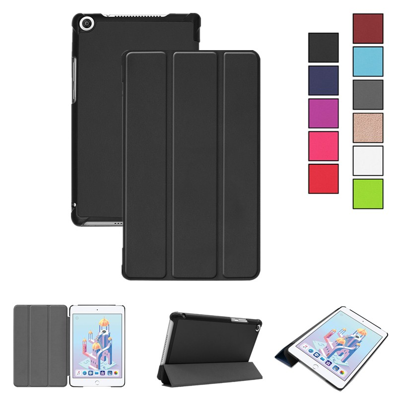 Ultra Slim Case For Huawei Honor Pad 5 8.0'' Stand Tablet Case For Huawei Mediapad T5 8.0 JDN2-W09/AL00 8 Inch Protective Cover