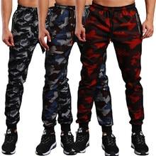 2019 Fashion Military Camouflage Pants Men Joggers Workout Gyms Camo Pa