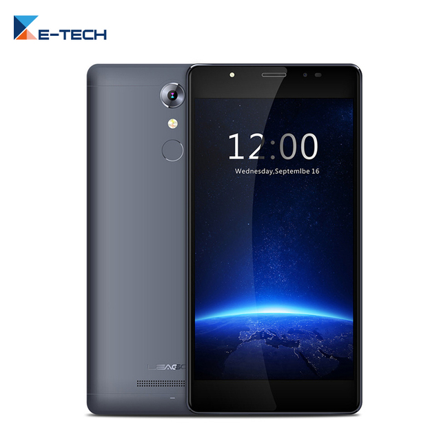 Original leagoo T1 plus Smartphone 5.5 Inch Quad Core 1280x 720 Android 6 Phone 3GB RAM 16GB ROM