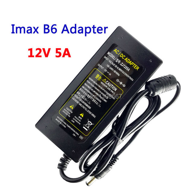 12V 5A AC/DC EU Plug Imax B6 Power Supply Adapter for Battery Balance Charger