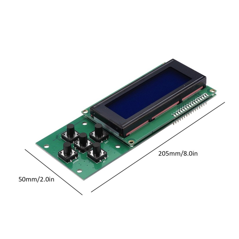 Melzi2.0 Motherboard Control Board Mega 1284p 2004 LCD Smart Display Screen Module Professional 3D Printer  Kit