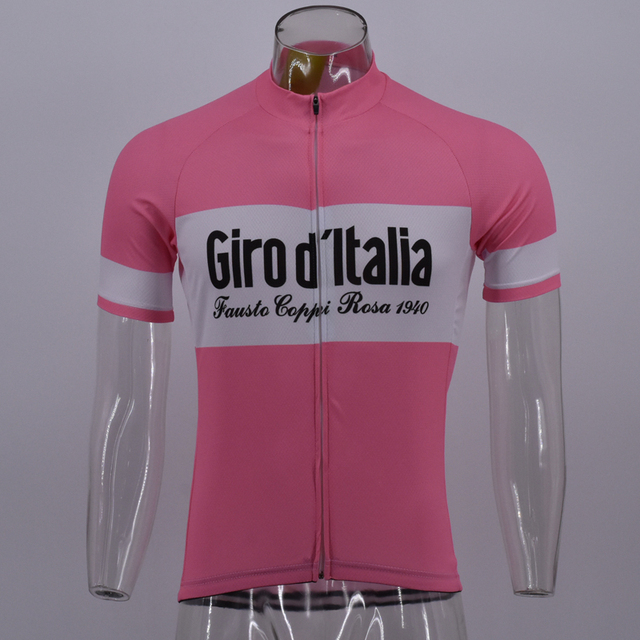 Special Price 2018 Pink Retro CLASSICAL New Team Cycling Jersey Customized  Road Mountain Race Tops max c65122ee6