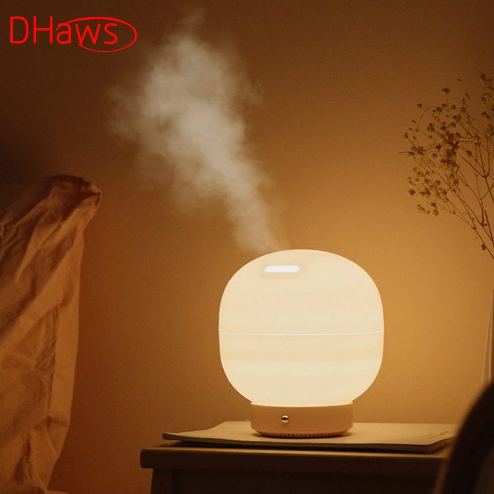 DHaws New 500ml Bubble Aromatherapy Humidifier Essential Oil Diffuser Aroma Mist Humidifier Nebulizer for Office Home Bedroom