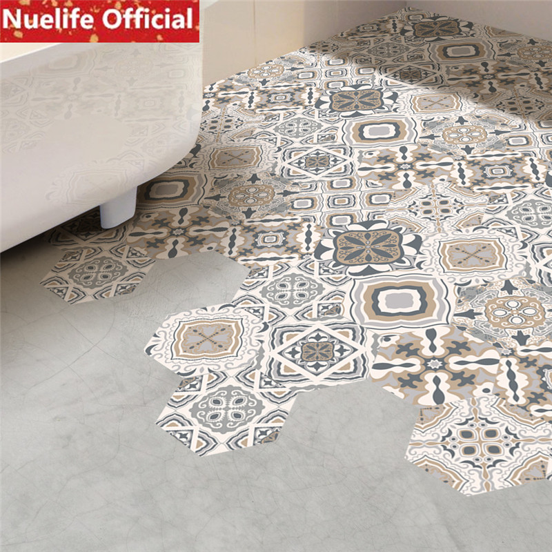 Restoring ancient ways color ceramic tile design wall stickers living room bedroom bathroom kids room shop floor stickers