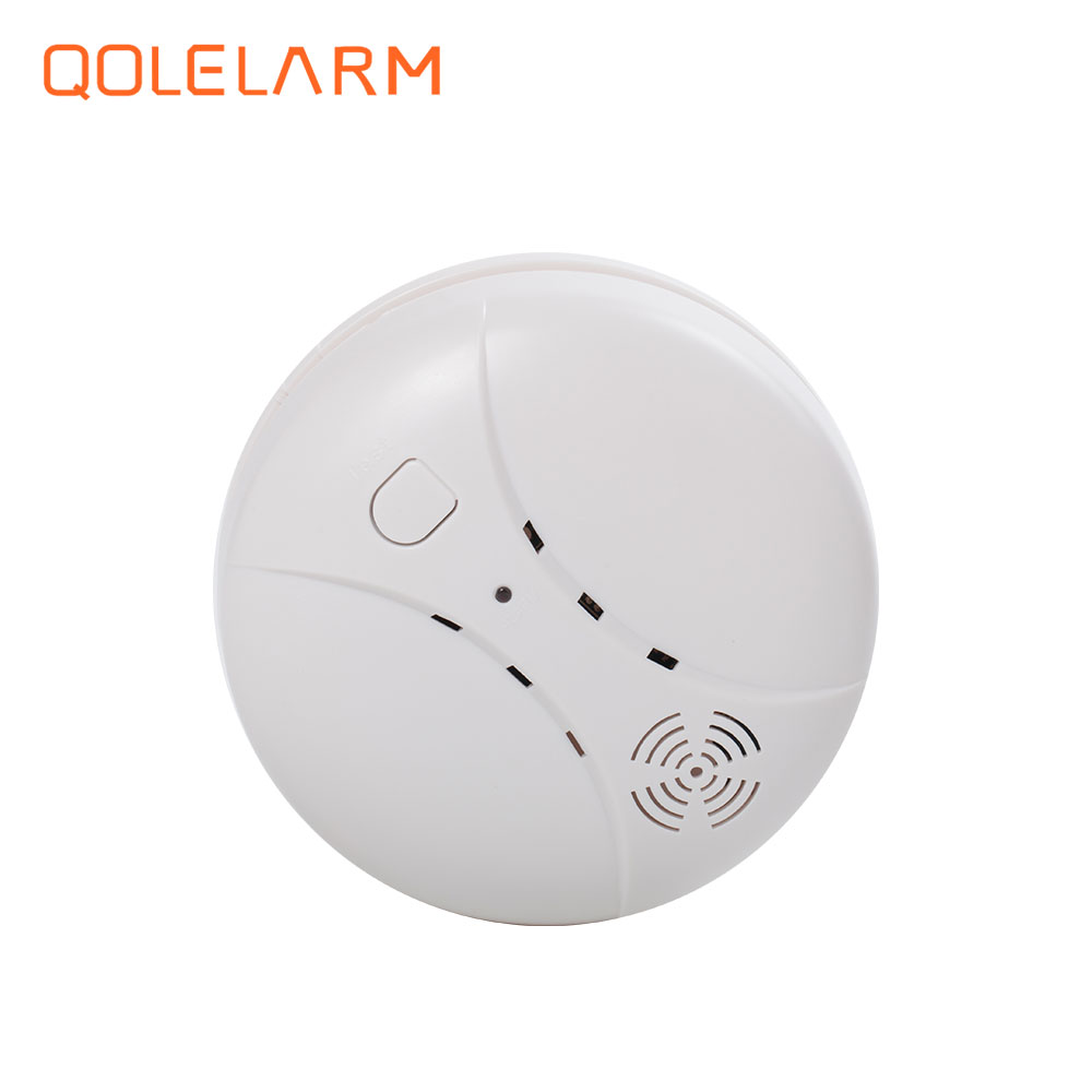 3 pcs 433 MHz wireless network smoke detector fire alarm for alarm systems home security wireless smoke fire detector for wireless for touch keypad panel wifi gsm home security burglar voice alarm system