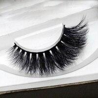 3D Multi Layer Water Mink False Eyelashes Thick Winged Messy Cross Exaggerated Fake Eyelashes Fashion Smoked