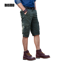 2017 Brand Men CLOTH New Fashion Clothing Men S Cotton Summer Casual Multi Pocket Shorts Free