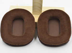Image 3 - สีน้ำตาลVelourหูเบาะผ้าสำหรับAudio technica ATH M50 M50S M50X M40 M40S M40X