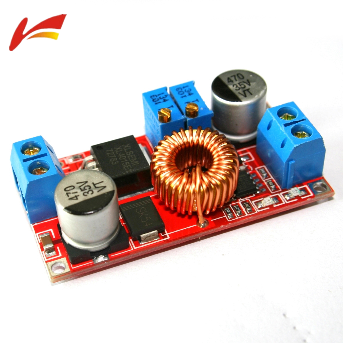 Lm2596hvs Lm2596 Power Supply Module Dc Buck 3a Adjustable Looking For A Red Laser Diode Circuit Controlablelm317components01 Cc Cv Max 5a Step Down Charging Board Xl4015 Lithium Battery Charger Converter