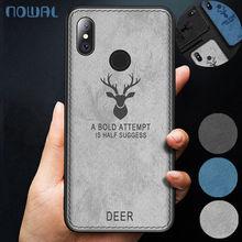 Case For Xiaomi Mi A1 A2 Lite Pocophone Poco F1 Elk Deer Fabric Cloth Soft Cover For Redmi Note 6 Pro 5 Plus 4 4X 6A S2 5A Prime