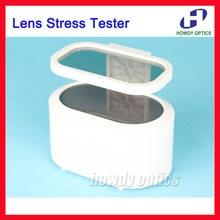 Lentilles Polariscope optique 12A, verres finis, testeur de Stress, détecteur, mesure avec lampe Led, connexion avec adaptateur