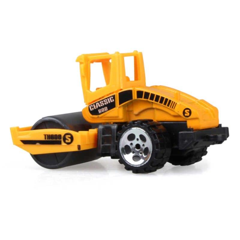 8 Buah/Set Bayi Teknik Mobil Mainan Anak Laki-laki Anak Perempuan Imitasi Inertial Teknik Anak-anak Mobil Mainan Paduan Excavator Hadiah Mainan Baru