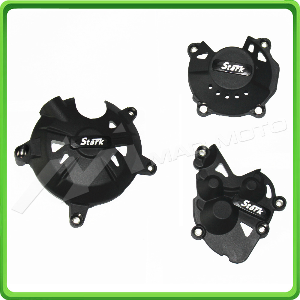 Motorcycles Engine cover Protection case for KAWASAKI Ninja ZX6R ZX-6R 636 2009-2015 engine case alternator generator stator guard cover for kawasaki zx6r zx 6r zx636 zx 6r 636 2013 2014 2015 2016