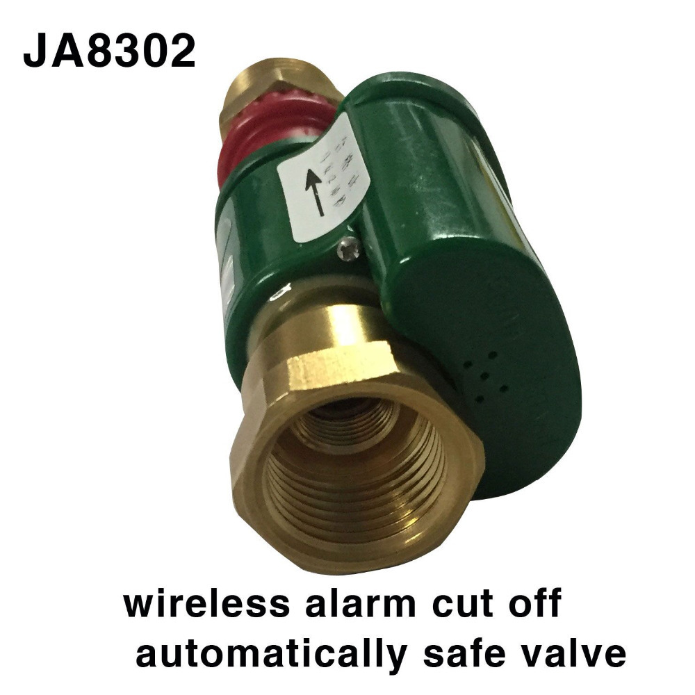 Home Improvement ... Heating, Cooling & Vents ... 32354010636 ... 3 ... Alarm Systems Security  JA 8302  Gas Leak Valve Wireless Thermal Leak Detector Alarm Set household  Hardware solenoid valve ...