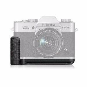 Image 2 - MEKE Meike XT20G Alüminyum Alaşım El Kavrama Hızlı Bırakma Plakası L Braketi Fujifilm X T20 X T30 X T10