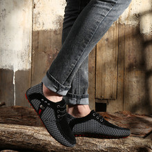 цена на new Brand Fashion Casual Shoes Men Summer Style Soft Moccasins Men Loafers High Quality Shoes Men Flats Gommino Driving Shoes