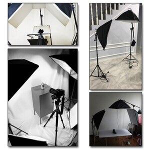 Image 5 - プロの写真照明機器キットとブームアームとソフト背景スタンド背景写真スタジオ