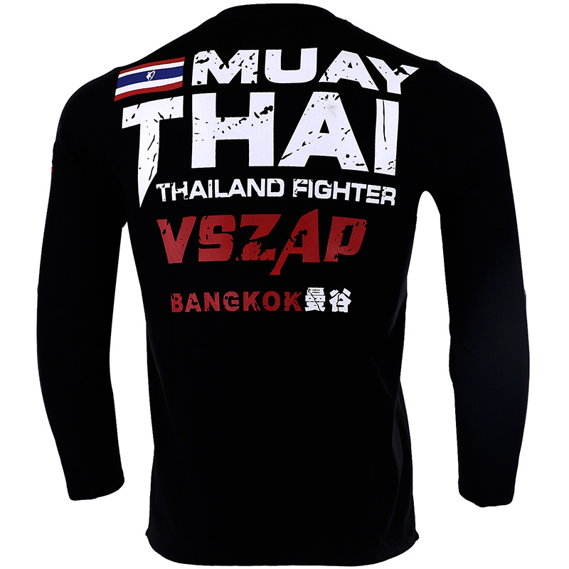 Fitness & Body Building Trustful Vszap Boxing Mma Rashguard T Shirt Gym Tee Shirt Fighting Martial Arts Fitness Training Muay Thai T Shirt Men Homme Jersey Boxing