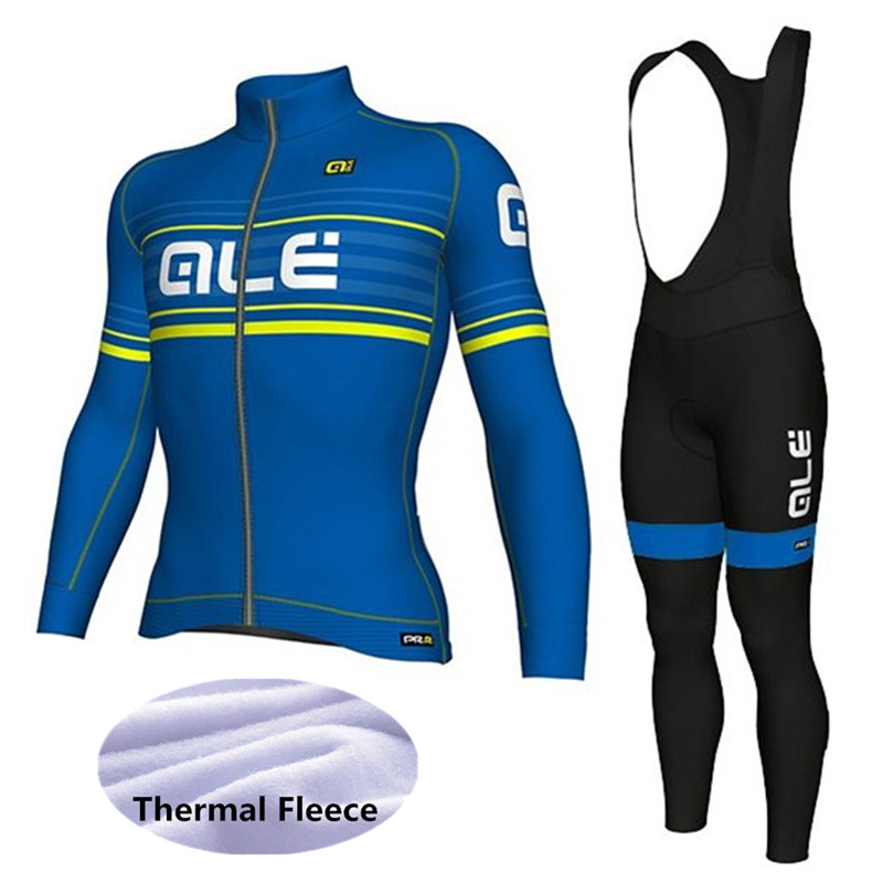 ALE Cycling Set Winter Thermal Fleece Long Sleeves Cycling Jerseys Ropa Ciclismo Bicycle MTB Bike Clothing Sports Pro Kits Wear asg dan wesson 2 5