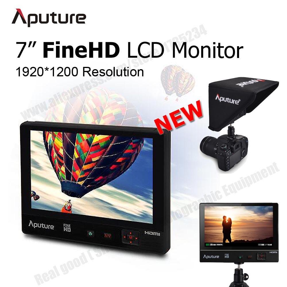 Aputure VS1 FineHD 7 HD LCD Panel Digital Video Monitor HDMI AV Input for Canon Nikon Sony A7s DSLR Camera Camcorder GH4 GoPro
